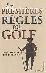 Les premières règles du Golf