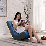 VIVOCC Rocker Gaming Chair, Komfort Faule Couch Pu Leder Folding Sofa Rocking Stuhl Indoor Outdoor Für Wohnzimmer Home-A 60x47x73cm(24x19x29inch)