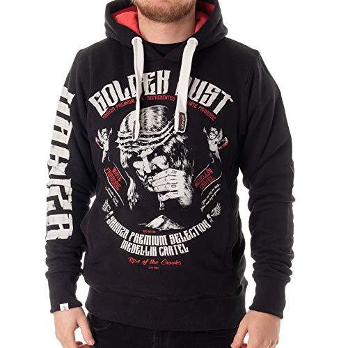 Yakuza Premium Herren Sweatshirt YPH 2522 schwarz