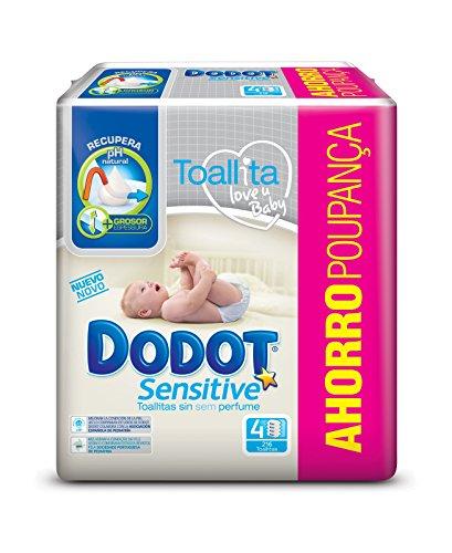 dodot-sensitive-toallitas-para-beb-4-paquetes-de-54-unidades-216-toallitas