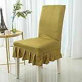 Raylans 4 Pcs Housse de Chaise de Mariage Housse de Protection Extensible de Chaise pour Décor Restaurant, Maison, Hôtel, Salle à Manger et Réunion etc