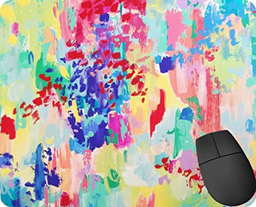 Carolyn Joe Art Melamin Mauspad, rutschfest, rechteckig, aus Gummi