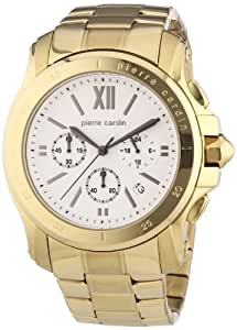 Pierre Cardin Herren-Armbanduhr XL Prince Chronograph Quarz Edelstahl beschichtet PC104291F08
