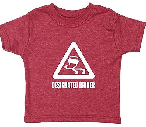 Hippowarehouse Designated Driver baby unisex t-shirt short sleeve