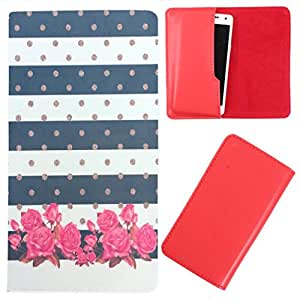 DooDa - For XOLO Q1000s Plus PU Leather Designer Fashionable Fancy Case Cover Pouch With Smooth Inner Velvet