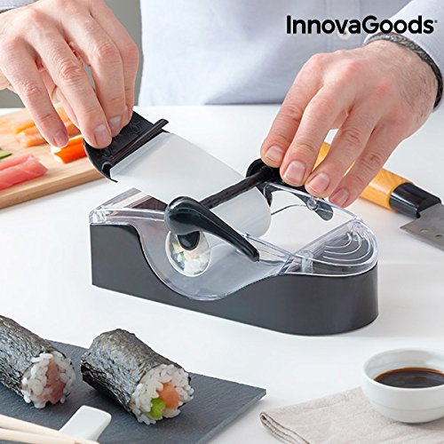 InnovaGoods IG117131 - Máquina de Sushi, color Negro