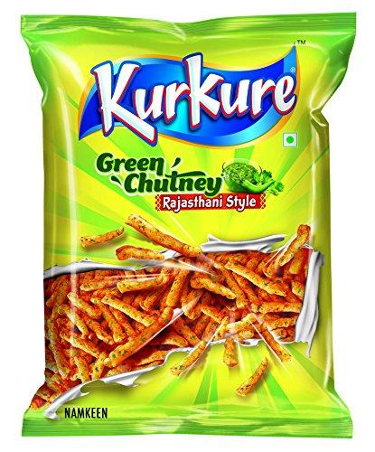 KurKure Namkeen - Green Chutney Rajastani Style, 47g Pouch