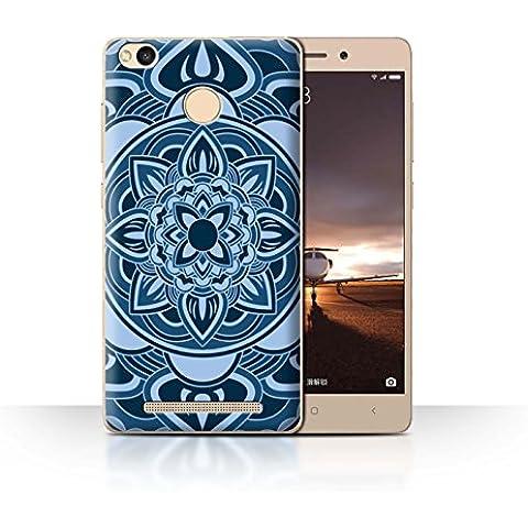 Carcasa/Funda STUFF4 dura para el Xiaomi Redmi 3 Pro/3S Prime / serie: Mandala del Arte -