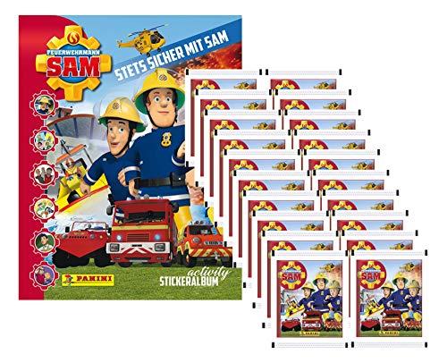 Feuerwehrmann Sam 2 - Stets Sicher mit Sam - 2019 - 1 Album + 20 Booster 2 Sicher