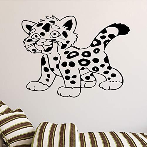 hetingyue Sehr schöne Tiger wandkunst Aufkleber wandaufkleber wandbilder hauptdekoration Schlafzimmer wandtattoos hauptdekoration 104x77cm