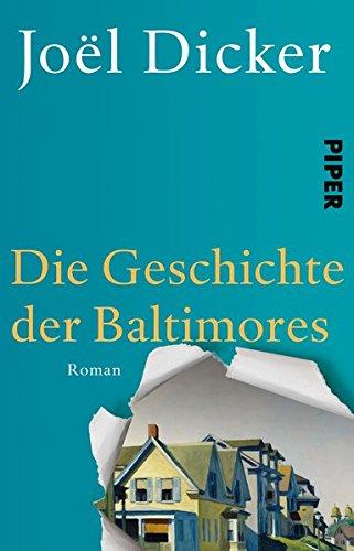 Buchseite und Rezensionen zu 'Die Geschichte der Baltimores: Roman' von Joël Dicker