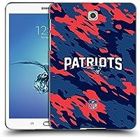 Ufficiale NFL Camou New England Patriots Logo Cover Retro Rigida per Samsung Galaxy Tab S2 8.0