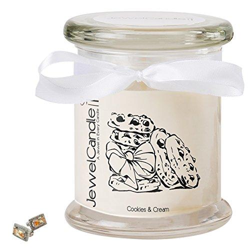 JewelCandle candela profumata - Cookies & Cream