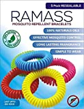 Best Bug Repellent For Campings - RAMASS Premium Natural Mosquito Repellent Bracelets - Wristbands Review