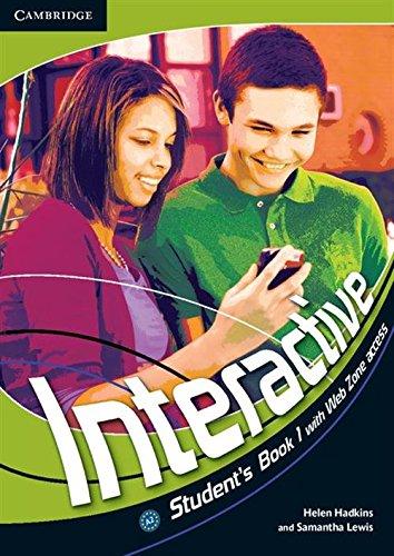 Interactive. Student's book. Per la Scuola media: Interactive Level 1 Student's Book with Web Zone Access - 9780521712088