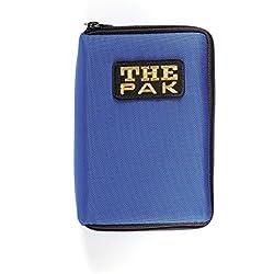 The Pak - Estuche para dardos (3-6 dardos con accesorios, color azul