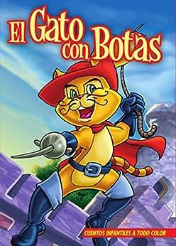 EL GATO CON BOTAS. Libro ilustrado para chicos de 3 a 8