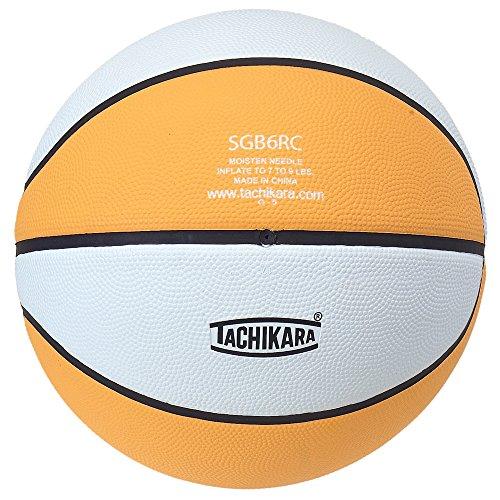 Tachikara 2-Tone Goma Baloncesto intermedio tamaño