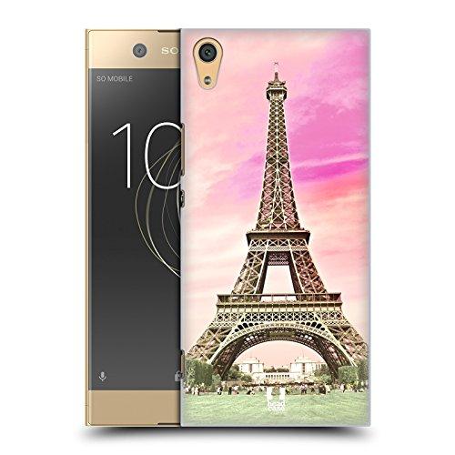 Head Case Designs Eiffelturm Paris Frankreich In Ganzen Schönsten Orte Der Welt Set 3 Ruckseite Hülle für Sony Xperia XA1 Ultra/Dual