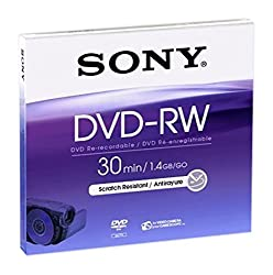 Sony Dvd-rw 8cm Disc Single Dmw30aj
