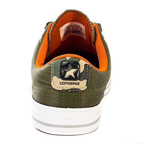 Converse Star Player Adulte Core Canvas Ox, Baskets mode mixte adulte HERBAL / BLACK / FIRE