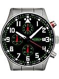 Astroavia N93S - 5ATM Orologio da uomo Cronografo Nero Chronograph