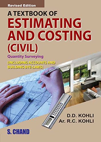 Estimating And Costing Ebook