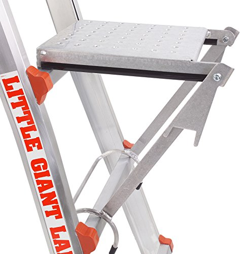 Little Giant Work Platform - Great for paint cans or feet | Fits all Little Giant Ladders | Official Accessory