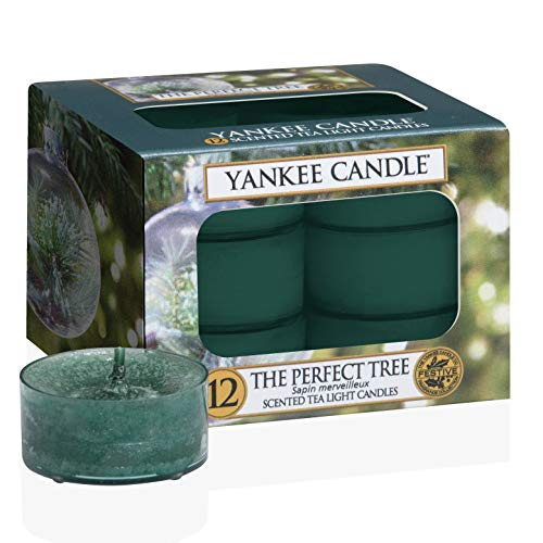 Yankee Candle Yankee candle classic teelichter-kerzen the perfect tree grün