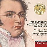 Schubert: Trios pour violon, violoncelle & piano Nos. 1 & 2(Les indispensables de Diapason)