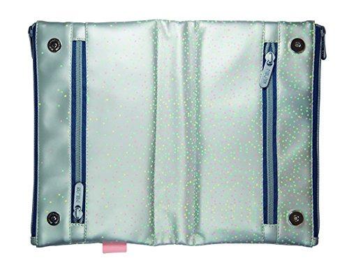 Milan Silver 2 Estuches, 22 cm, Plateado