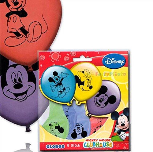 EY MOUSE * für den Kindergeburtstag oder Party // mit 75cm Umfang // Luftballon Ballons Deko Motto Kinderparty Micky Maus (Micky Maus Party)