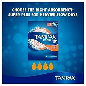 Tampax Pearl Super Plus Applicator Tampons 4 x 18 - Super Saving Box