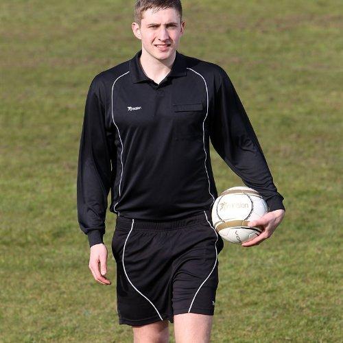 Precision arbitri shorts, Black/White, (Arbitro Shorts)
