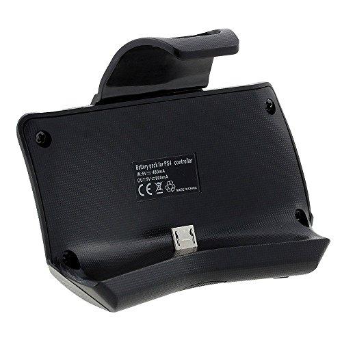 GAMINGER Batería Accu Pack para PlayStation 4 Control de Consola DualShock – extiende su tiempo de juego