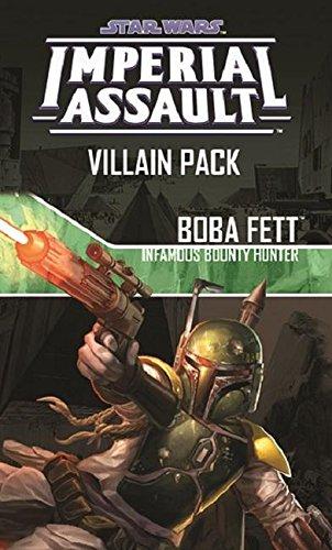 Fantasy Flight Games Star Wars: Imperial Assault Boba Fett, Infamous Bounty Hunter Villain Pack (Wars Star Boba Rebels Fett)