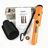 Metal Detectors Portable Gold Hunter GP-POINTER Orange Gold Finder Hand Held with LED light for Low Light Uses