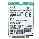 Tarjeta NGFF LTE/HSPA 4G EM7345 Gobi5000 para Lenovo ThinkPad T440, T440s, T431s, T440p, X1 Carbon, X240, 04X6014, módem celular LTE banda ancha móvil