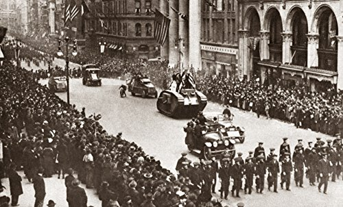 WWI: Liberty Loan Parade. /Ntanks at The Liberty Loan Parade at 5Th Avenue and 35Th Street In New York City C1917. Kunstdruck (60,96 x 91,44 cm)