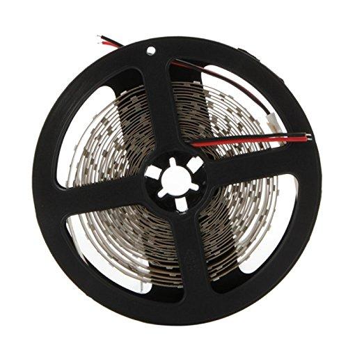 HBR Lumière Rouge Non-imperméable à l'eau de luminosité Normale Flexible Barre Lumineuse de Barre de LED DC 12V 36W 300 LED 5630 SMD 5M 3450-3550LM (1PCS) (Color : Red)