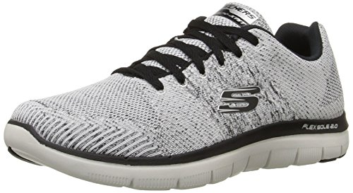 Skechers Flex Advantage 2.0 Missing Link Herren US 7.5 Weiß Laufschuh (Flex Link Herren)