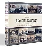 Leuchtturm 348003 Sammel-Album für 600 historische Postkarten, Postkarten-Sammel-Album mit 50 eingebundenen Klarsichthüllen