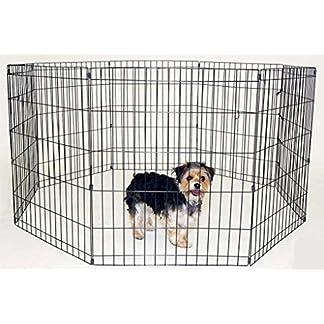 RayGar® DOG PET PEN 8 SIDE EXERCISE PEN FENCE PLAY PLAYPEN RUN CAGE PUPPY RABBIT (8pcs) RayGar® DOG PET PEN 8 SIDE EXERCISE PEN FENCE PLAY PLAYPEN RUN CAGE PUPPY RABBIT (8pcs) 51wVGodgTzL