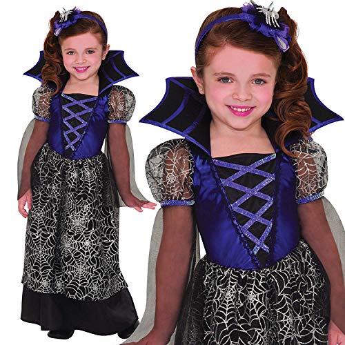 Miss Wicked Web Kostüm (5-7Jahre) ()
