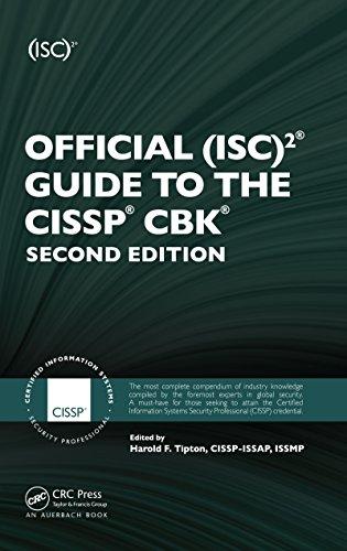 Official (ISC)2 Guide to the CISSP CBK ((ISC)2 Press) (English Edition) por Harold F. Tipton CISSP