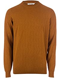 Pull Twill Texture Crew Neck pour Homme