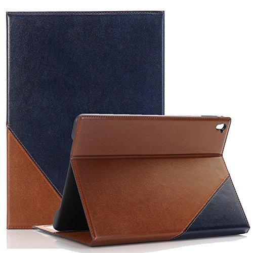 TechCode 7,9 Zoll iPad Mini 4 Schutzhülle, PU Leder Brieftasche Hüllen mit Standfunktion und Karte Halter mit Smart Auto Sleep/Wake Funktion Fall Abdeckung für Apple iPad Mini 4 (iPad Mini 4, Blau)