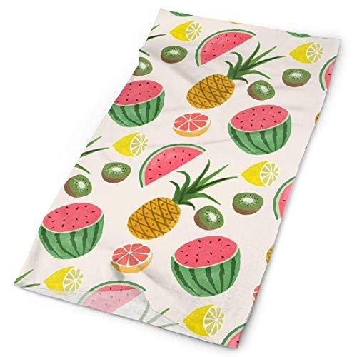 Bikofhd Stirnbänder Obst Kopfbedeckungen Bandana Schweißband Gamasche Kopf Wickelmaske Hals Outdoor Schal Multicolor12