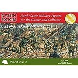 Plastic Soldier Company Late War German Infantry 1943-45 - 1:72 Model Kit by Plastic Soldier Company