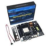 Heraihe N68 C61 Desktop Computer Motherboard-Unterstützung für AM2 für AM3 CPU DDR2 + DDR3-Speicher Mainboard mit 4 SATA2-Anschlüssen